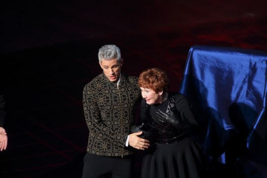 Figaro with Ann Murray Marcellina Los Angeles Photo by Mathew Imaging