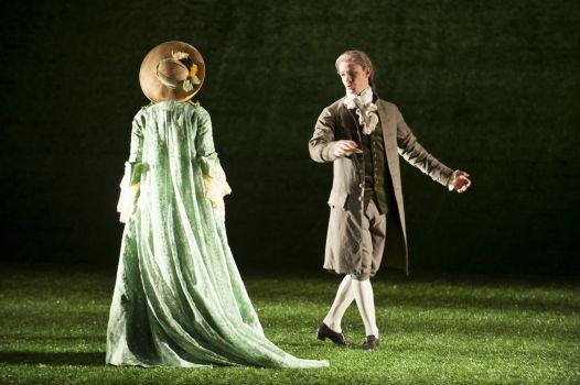 Rousseau and Warens - JJR Geneva Opera
