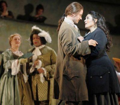 Lescaut with Aileen Perez Manon - Dallas Opera